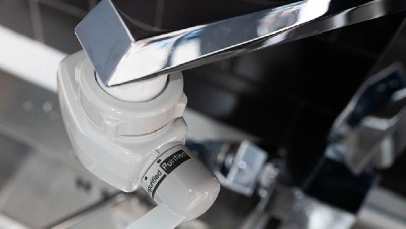 Thiết kế vòi vặn của máy được tối ưu đảm bảo tính tiện lợi cho người dùng