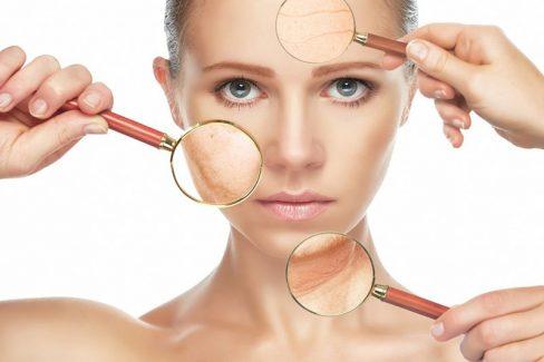 Da mặt bị lão hóa do rất nhiều nguyên nhân khác nhau