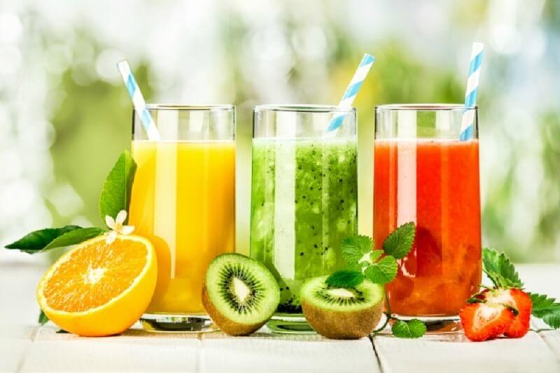 Nước hoa quả là là loại nước uống healthy rất tốt cho sức khỏe