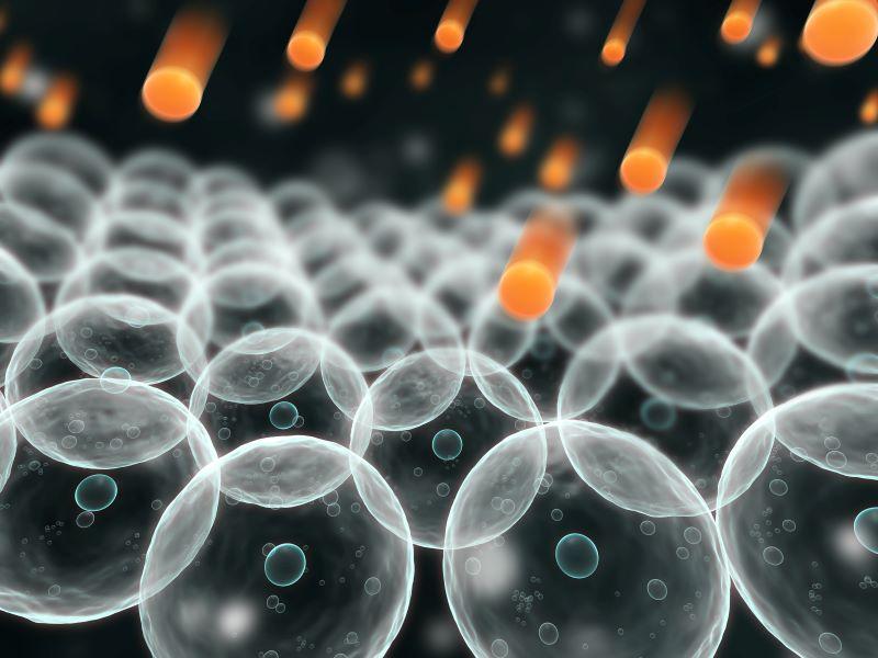 Gốc tự do là nguyên tử bị thiếu mất điện tử ngoài vỏ electron (nguồn internet)