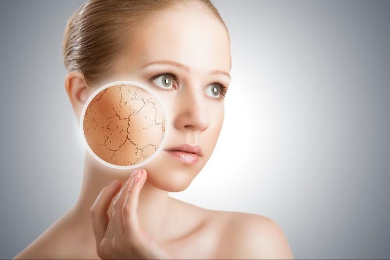 Da khô ráp, chảy xệ là biểu hiện điển hình của lão hóa da