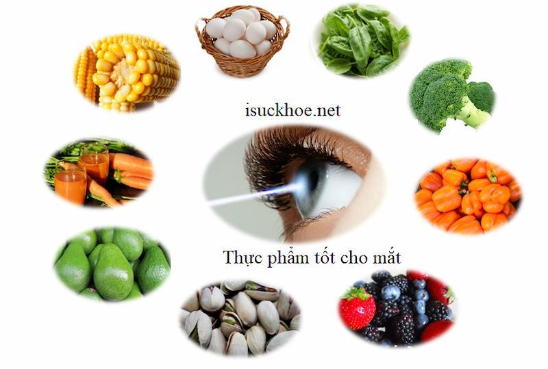 Cần thường xuyên bổ sung thực phẩm tốt cho mắt