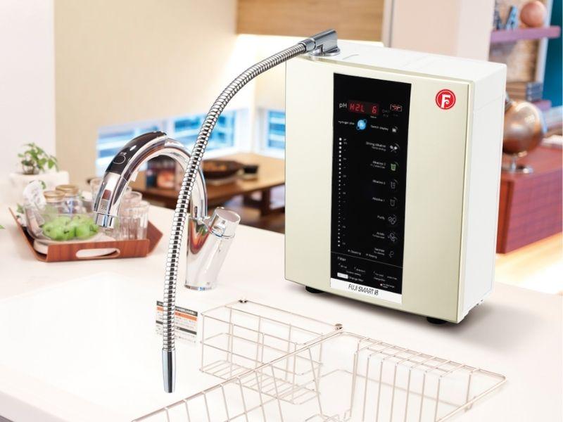Máy lọc nước I8 có khả năng tạo ra 8 loại nước với độ pH khác nhau