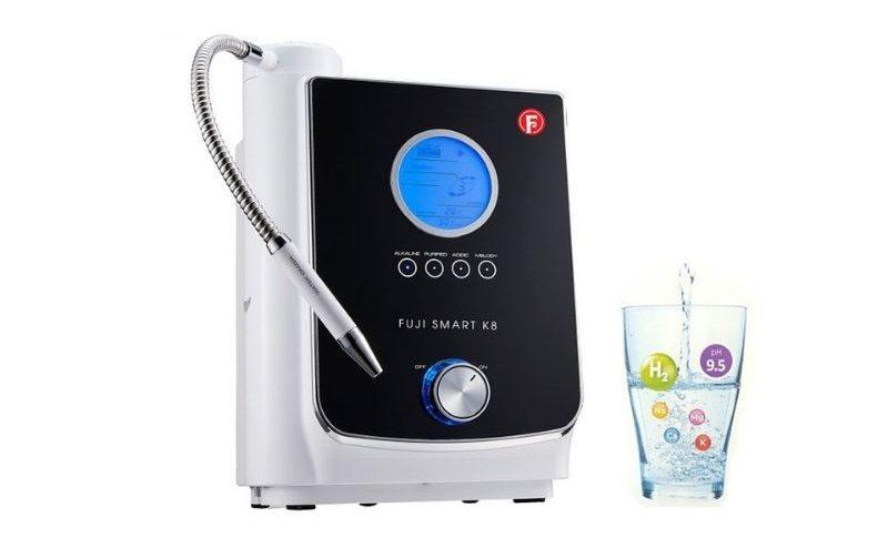 Sử dụng nước của máy Fuji Smart K8 sẽ giúp bạn nâng cao tính kiềm của cơ thể