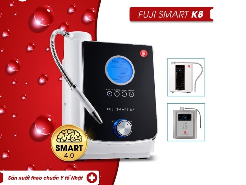 Fuji Smart K8 với những thiết kế ấn tượng hơn các model thông thường