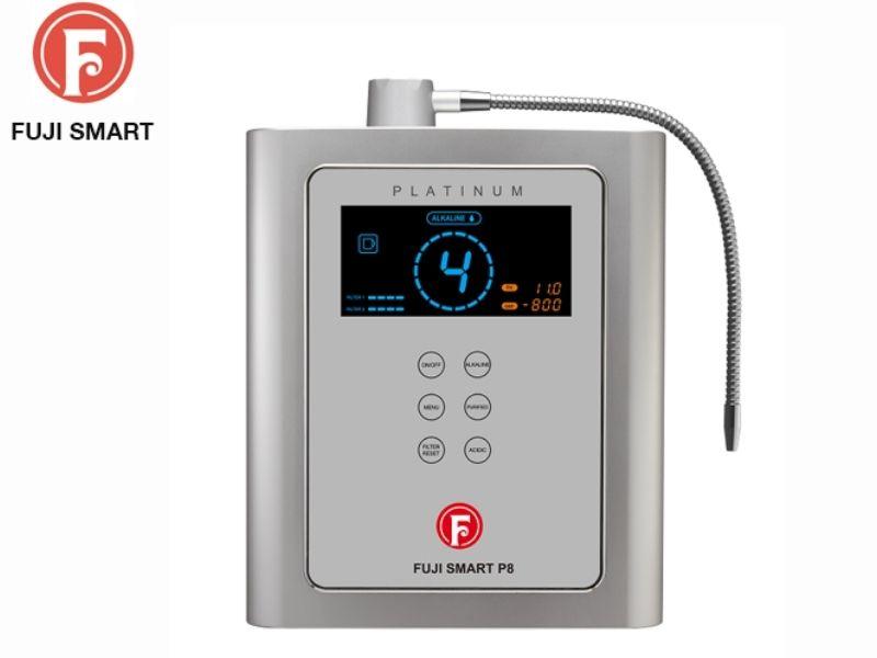Máy lọc nước ion kiềm Fuji Smart P8 nhận được đánh giá tốt bởi công dụng cũng như những tính năng nổi bật