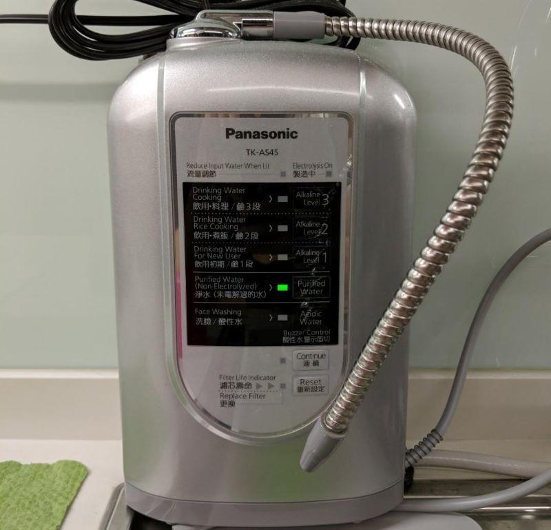 Máy lọc nước Panasonic TK-AS45 được ưa chuộng rất nhiều tại Nhật