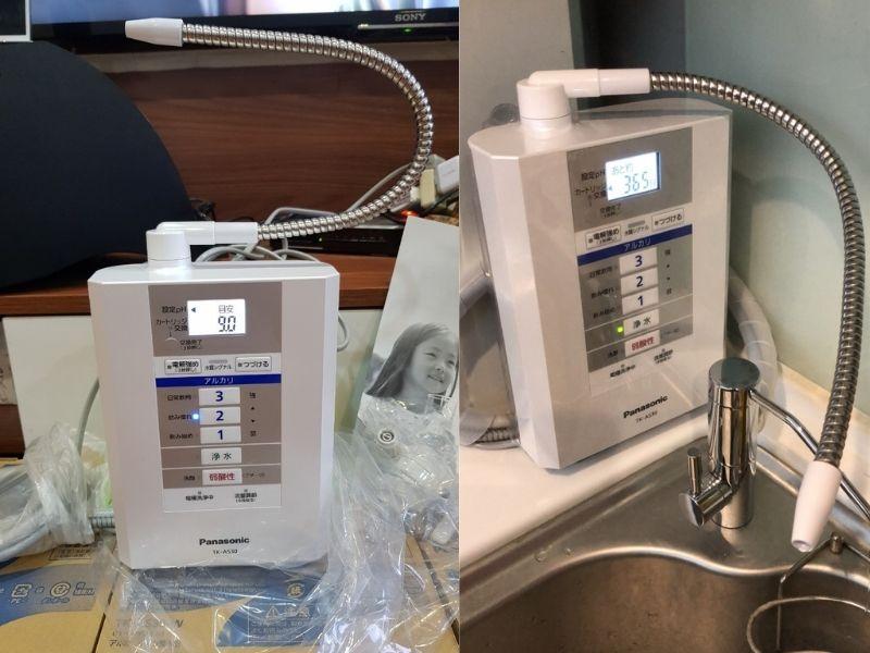 Máy lọc nước tạo kiềm Panasonic Alkaline TK-AS30-W được thiết kế nhỏ gọn, không tốn diện tích