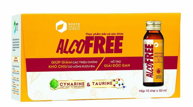 Sản phẩm nước giải rượu Alcofree