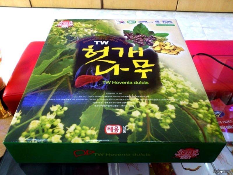 Nên uống nước giải rượu TW Hàn Quốc để bảo vệ chức năng gan