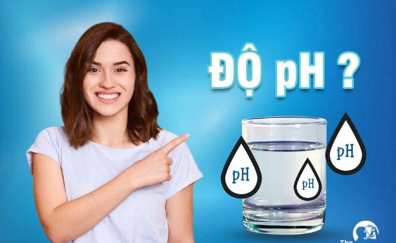Mức độ pH tốt nhất cho nước uống là trung tính 7