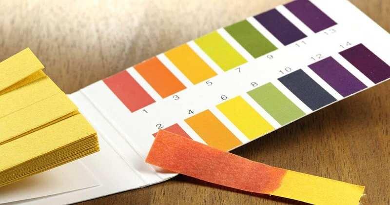 Việc sử dụng cân bằng pH để mô tả mức độ axit hoặc kiềm của một chất.
