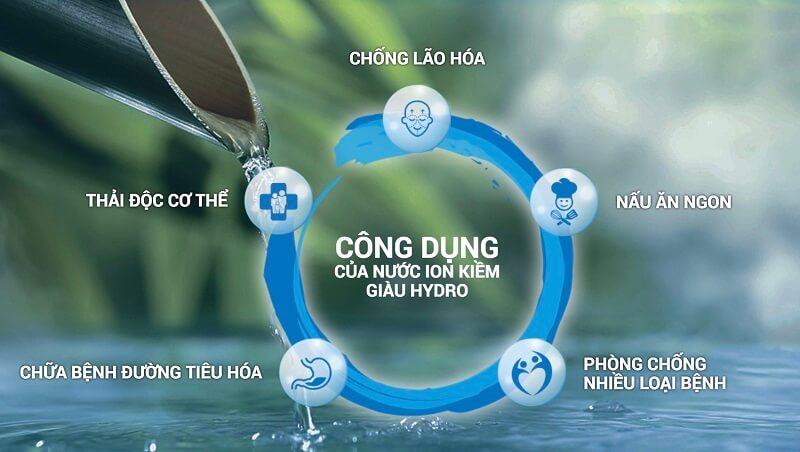 Uống nước điện giải cũng giúp cho tế bào dễ dàng hấp thụ dưỡng chất