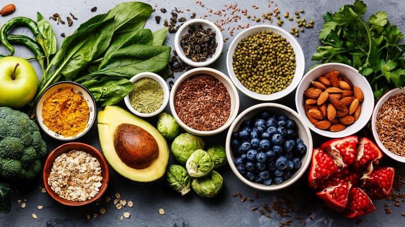 Thực phẩm chứa chất chống oxy hóa giúp bảo vệ các tế bào khỏe mạnh