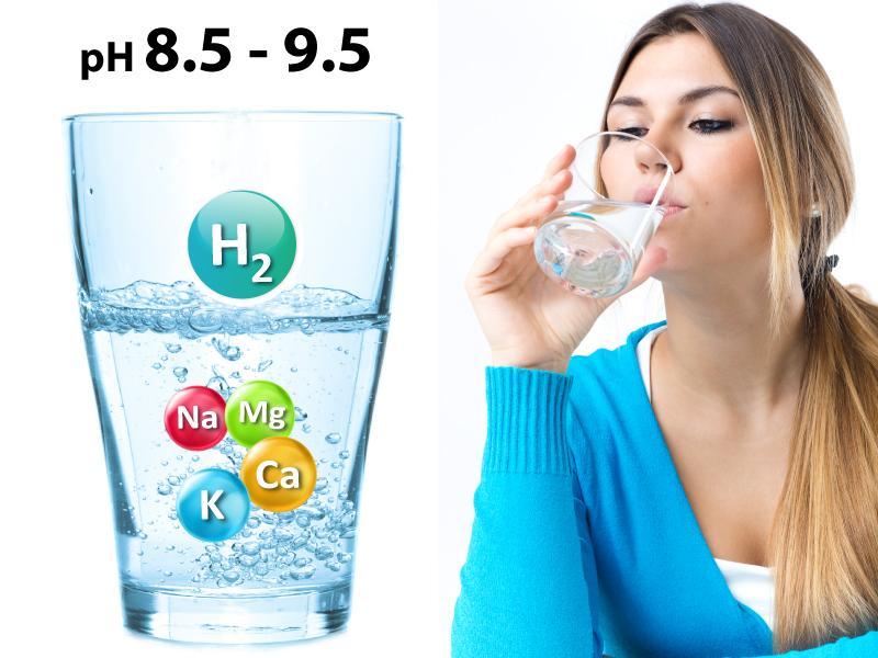 Máy lọc nước ion kiềm giúp tạo ra nguồn nước giàu kiềm tốt cho sức khỏe