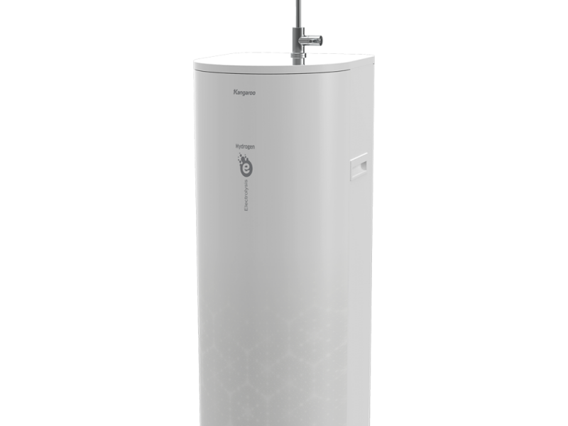 Máy lọc nước Kangaroo KG100EO có thiết kế hình Oval, màu sắc trang nhã
