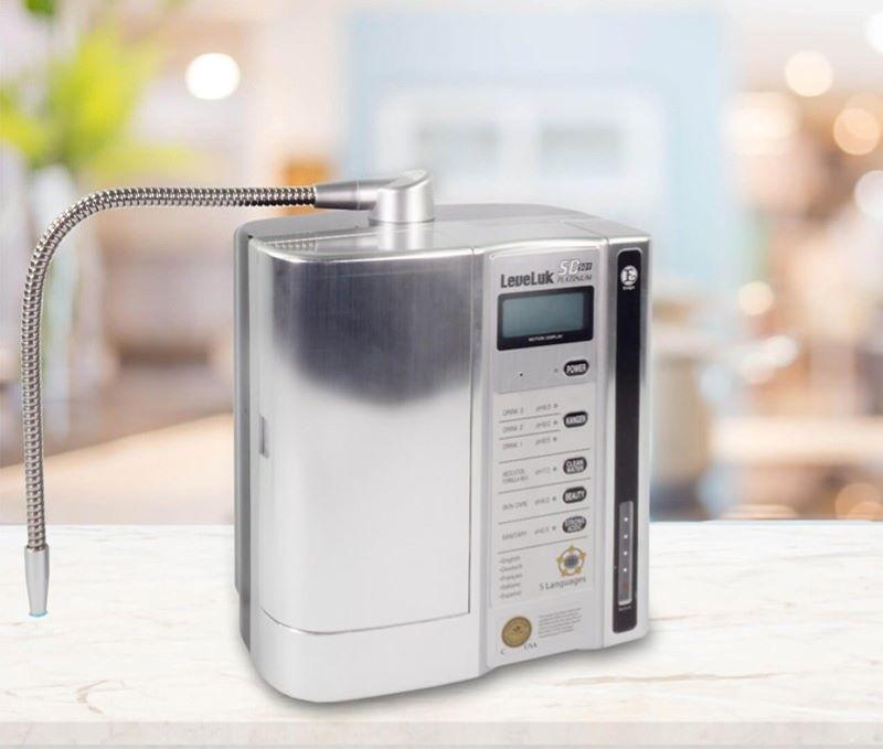 Kangen LeveLuk SD501 Platinum có khả năng lọc ấn tượng