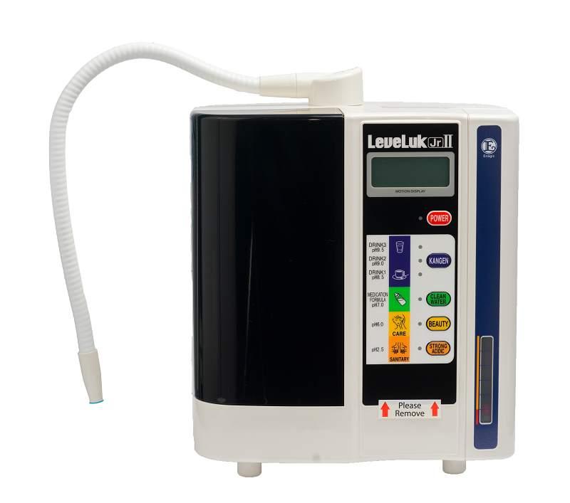 Kangen LeveLuk Jrll có giá thành thấp nhất trong số các dòng máy của Enagic
