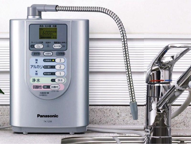 Máy lọc nước ion kiềm Panasonic là thương hiệu sản xuất máy lọc nước điện giải hàng đầu Nhật Bản