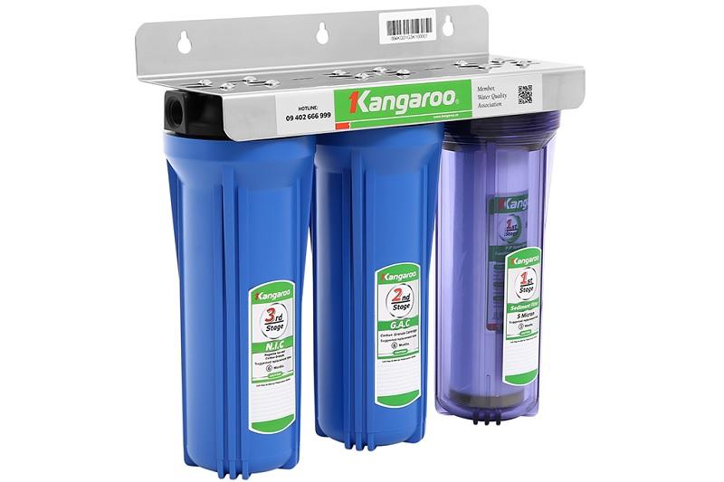 Máy lọc nước RO giúp loại sạch ion canxi và magie trong nước cứng