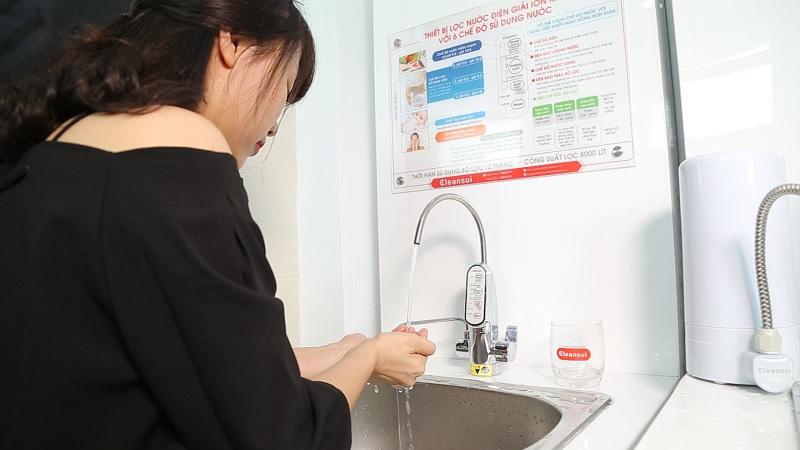Thiết bị được sử dụng rộng rãi và khuyến khích sử dụng trong các bệnh viện, trường học, công sở...