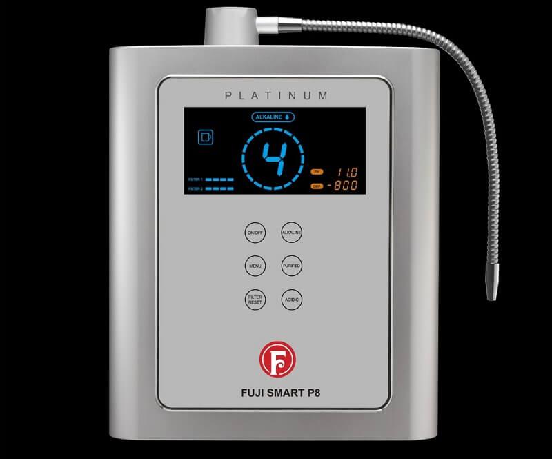 Thiết kế máy lọc nước điện giải Fuji Smart P8 vô cùng nhỏ gọn