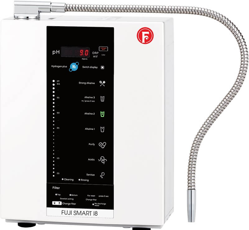 Fuji Smart I8 là máy lọc nước kiềm cũ mang lại nguồn nước chất lượng cho mọi gia đình
