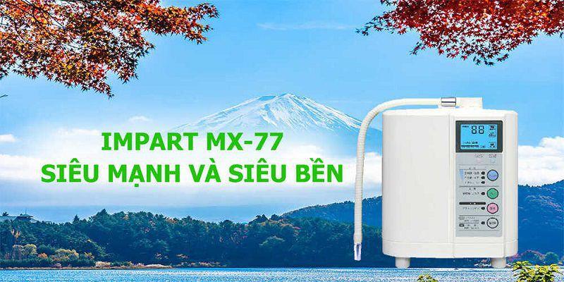 Máy lọc nước ion kiềm Impart Excel-JX (MX-77)