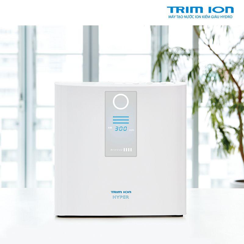 Giới thiệu máy lọc nước ion kiềm Trim ion Hyper
