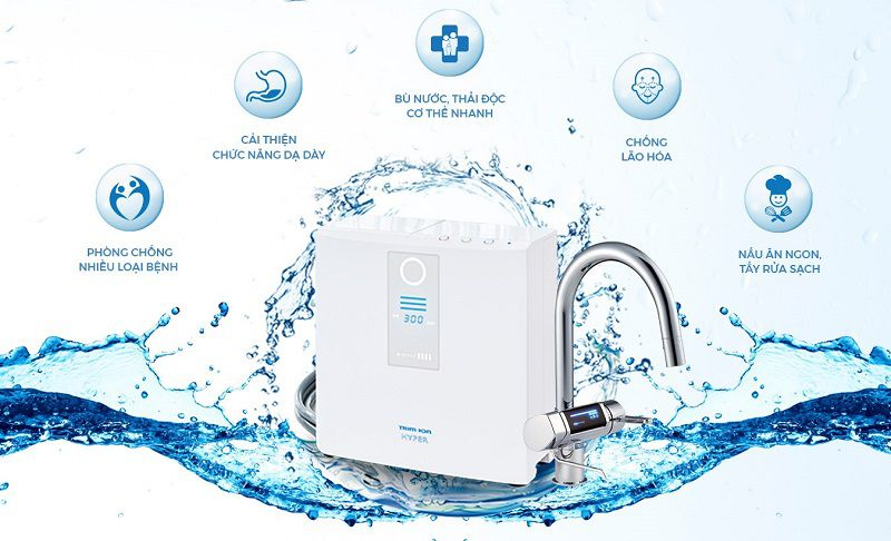 Triomion Hyper tạo ra nguồn nước với nhiều công dụng khác nhau