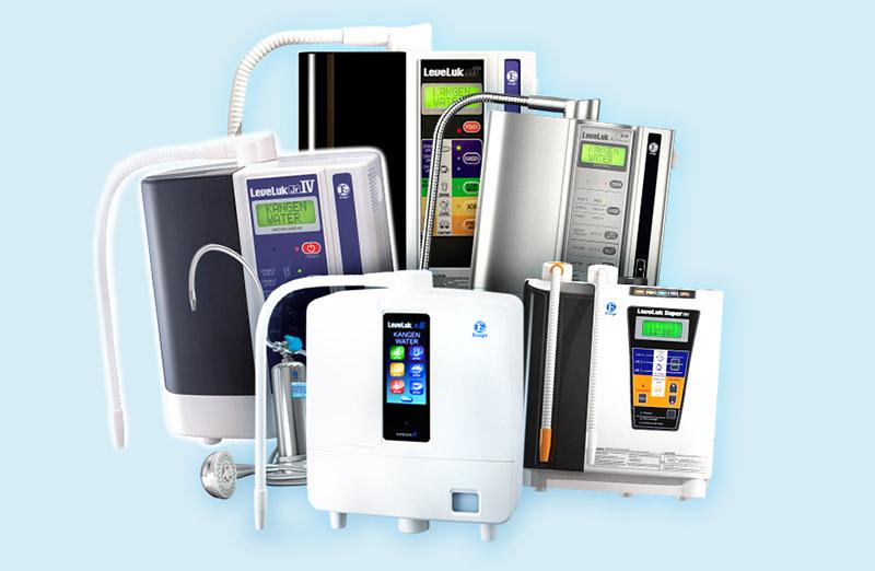 Dòng máy lọc nước Kangen LeveLuk được bán rộng rãi tại thị trường Việt Nam