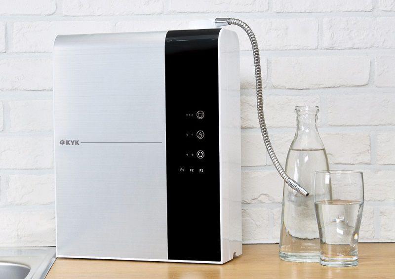 Máy lọc nước ion kiềm KYK Hydrogen HYM 3+ có thiết kế mang đậm phong cách Hàn Quốc