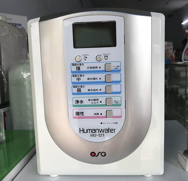 OSG Human Water HU-121 đáp ứng được nhu cầu sử dụng nước sạch cho gia đình